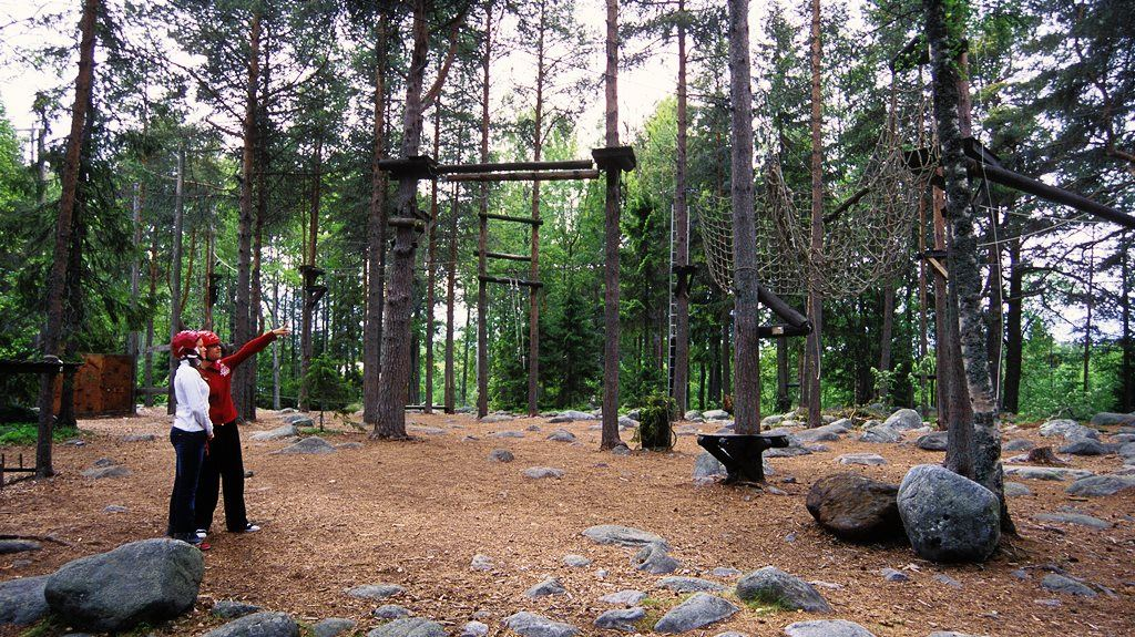 Activities with KFUM on Norrbyskär island