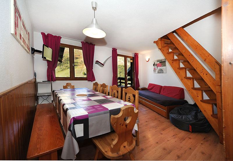 3 Rooms cabin 8 Pers ski-in ski-out / LES BALCONS D'OLYMPIE 532