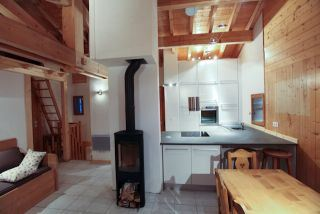 5 Rooms 8 Pers ski-in ski-out / BALCONS DE ST MARTIN 6