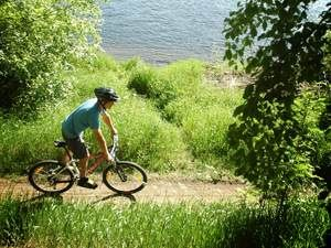 Cycle and see beautiful Umeå